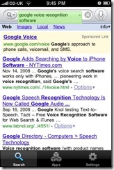3. Google iPhone Application
